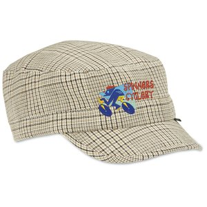 Peter Grimm Cadet Cap - Khaki Plaid
