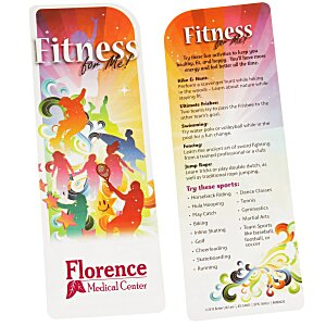Just the Facts Bookmark - Fitness For Me Main Image
