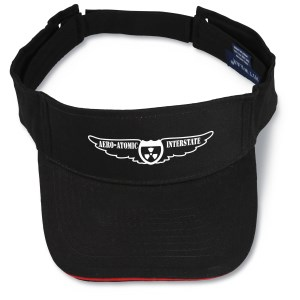 Brushed Cotton Sandwich Visor - Screened Main Image