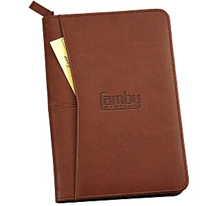 Pedova Jr. Zippered Padfolio Main Image