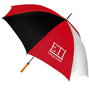 Pro-Am Golf Umbrella - Tricolor - 24 hr Main Image