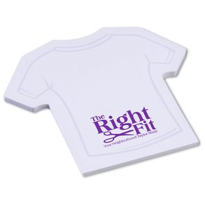 Post-it® Custom Notes - Shirt - 50 Sheet - Stock Design 1 Main Image