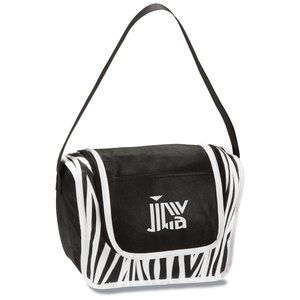 Printed Poly Pro Lunch Box - Zebra Main Image