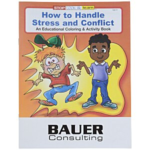 How to Handle Stress & Conflict Coloring Book Main Image
