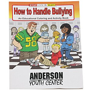 How to Handle Bullying Coloring Book Main Image
