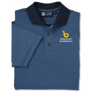 Blue Generation Shadow Stripe Polo - Men's Main Image