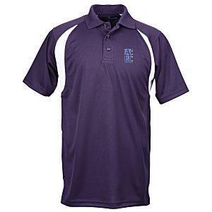 Blue Generation Raglan Sport Polo - Men's