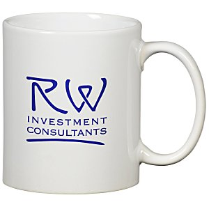 Value White Mug - 11 oz.
