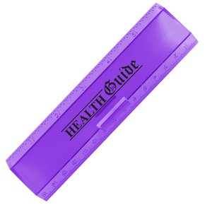 "Leading Edge Ruler 6"" - Translucent"
