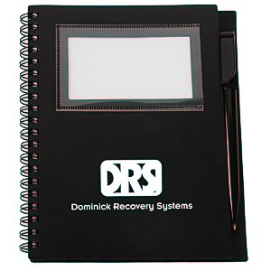 Business Card Notebook with Pen - Opaque Main Image