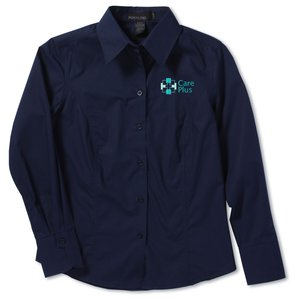North End Poplin Taped Shirt - Ladies'