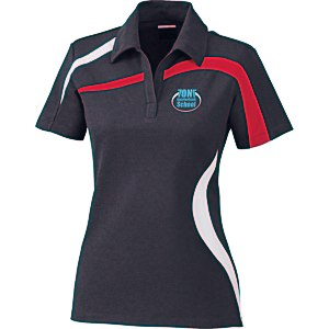 North End Sport Colorblock Polo - Ladies' Main Image