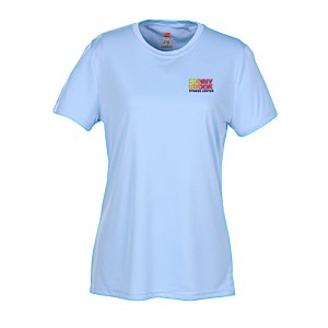 Hanes 4 oz. Cool Dri T-Shirt - Ladies' - Embroidered Main Image