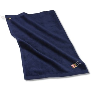 Golf Towel w/Grommet and Clip - 24 hr Main Image