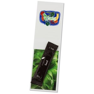 Recipe Bookmark with Basil Main Image