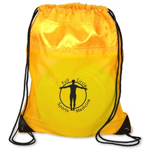Nylon Sportpack with Mesh trim- Closeout Main Image