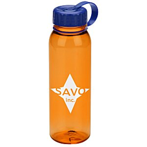 Poly-Pure Outdoor Bottle with Tethered Lid - 24 oz. Main Image