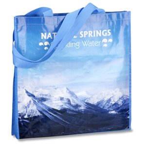 PhotoGraFX Scapes Gusseted Tote - Mountains-Closeout Main Image