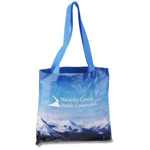 PhotoGraFX Scapes Flat Tote - Mountains - Closeout Main Image