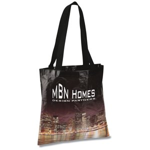 PhotoGraFX Scapes Flat Tote - City - Closeout Main Image