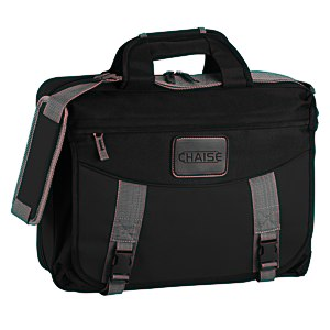 EZ Check Laptop Brief Bag - Polyester Main Image