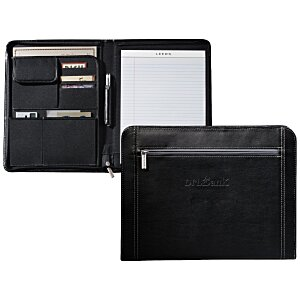 Metropolitan Zippered Padfolio Main Image