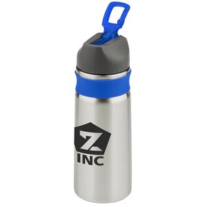 Stainless Sport Bottle w/Silicone Sleeve - 26 oz. Main Image