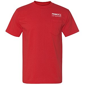 Bayside Union Made Pocket T-Shirt - Colors