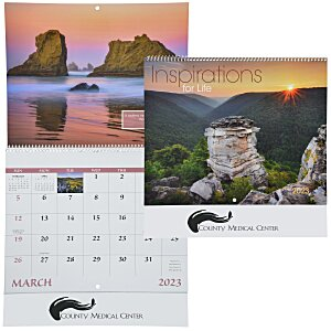 Inspirations for Life Calendar - Spiral Main Image