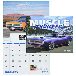 Muscle Thunder Calendar - Window Main Image