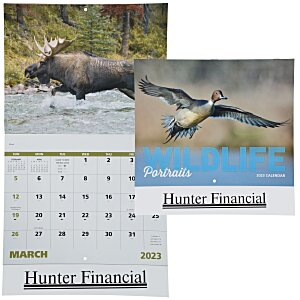 Wildlife Portraits Calendar - Stapled Main Image