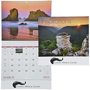 Inspirations for Life Calendar - Stapled Main Image