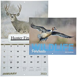 Wildlife Portraits Calendar - Window Main Image
