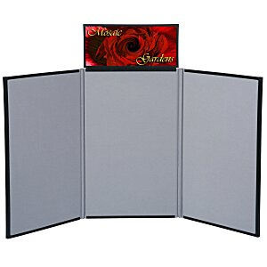 Fold N Go Tabletop Display - 4' - Header Main Image