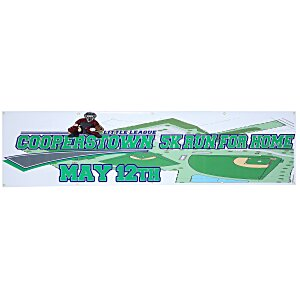 Value Indoor Banner - 2' x 8' Main Image