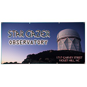 Value Outdoor Banner - 3' x 6' Main Image