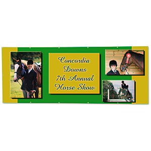 Value Outdoor Banner - 4' x 10' Main Image