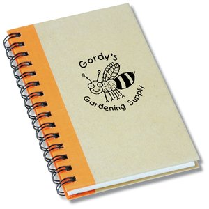 Mini Recycled Color Spine Notebook - Closeout Main Image