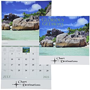 Glorious Getaways Calendar - Stapled Main Image