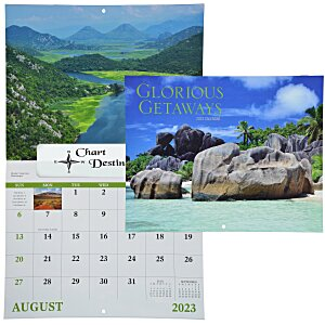 Glorious Getaways Calendar - Window Main Image