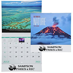The Power of Nature Calendar - Stapled Main Image