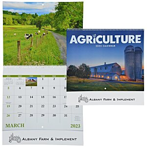 Agriculture Calendar - Spiral Main Image