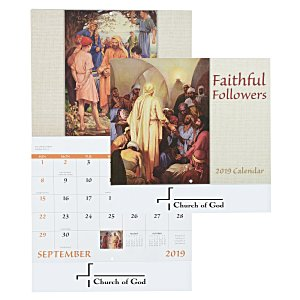 Faithful Followers Calendar - Stapled Main Image