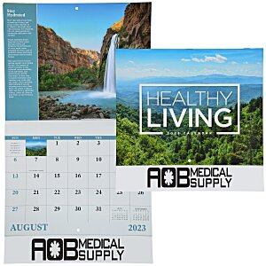 Healthy Living Calendar - Stapled Main Image