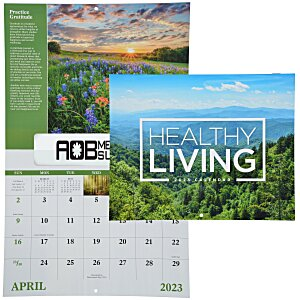 Healthy Living Calendar - Window Main Image