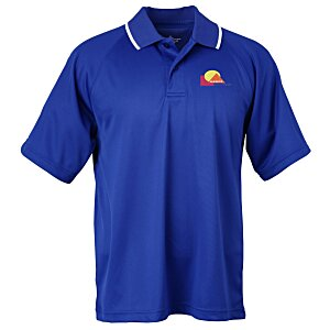 Classic Moisture Wicking Tipped Polo - Men's Main Image