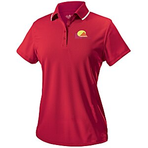 Classic Moisture Wicking Tipped Polo - Ladies' Main Image