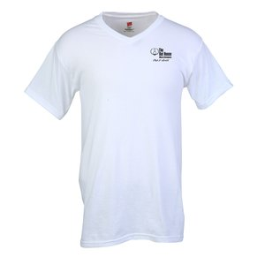 Hanes Original V-Neck T-Shirt Main Image