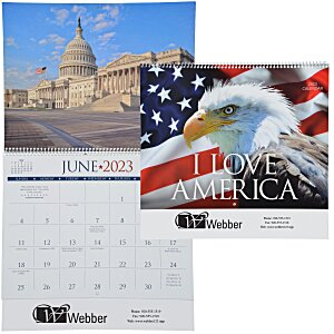 I Love America Appointment Calendar Main Image