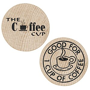 Wooden Nickel - Coffee